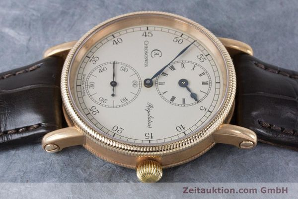 Used luxury watch Chronoswiss Regulateur bronze manual winding Kal. Unitas 6376 Ref. CH6327A VINTAGE  | 161052 05