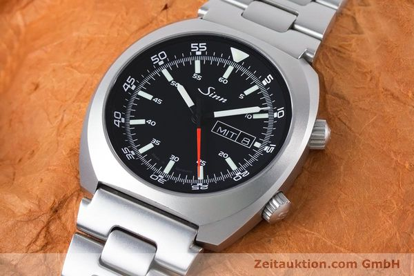 Used luxury watch Sinn 240 ST steel automatic Kal. Selita  220-1  | 161057 01
