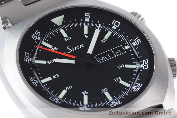 Used luxury watch Sinn 240 ST steel automatic Kal. Selita  220-1  | 161057 02