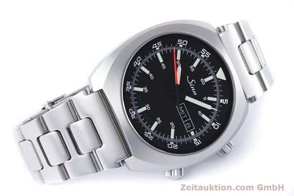Used luxury watch Sinn 240 ST steel automatic Kal. Selita  220-1  | 161057 03