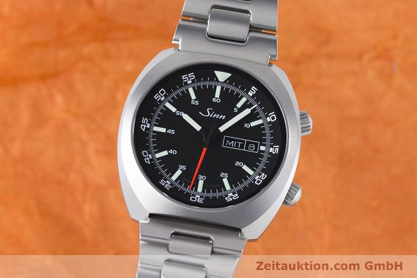 Used luxury watch Sinn 240 ST steel automatic Kal. Selita  220-1  | 161057 04
