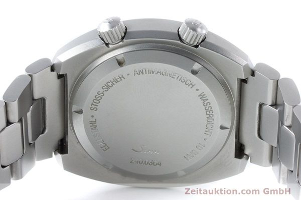 Used luxury watch Sinn 240 ST steel automatic Kal. Selita  220-1  | 161057 10
