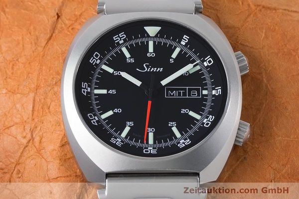 Used luxury watch Sinn 240 ST steel automatic Kal. Selita  220-1  | 161057 15