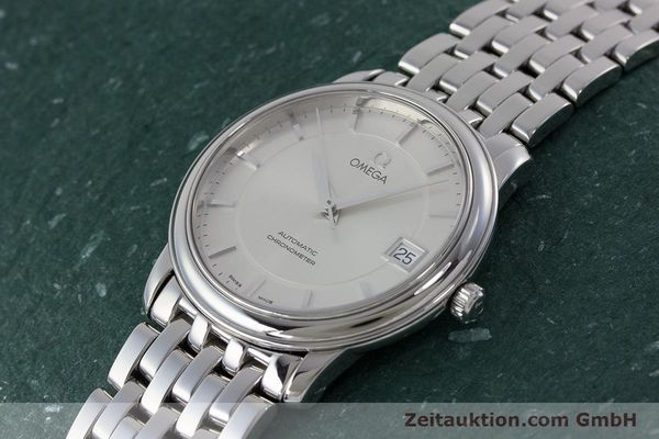 Used luxury watch Omega De Ville steel automatic Kal. 1120 Ref. 45003100  | 161058 01