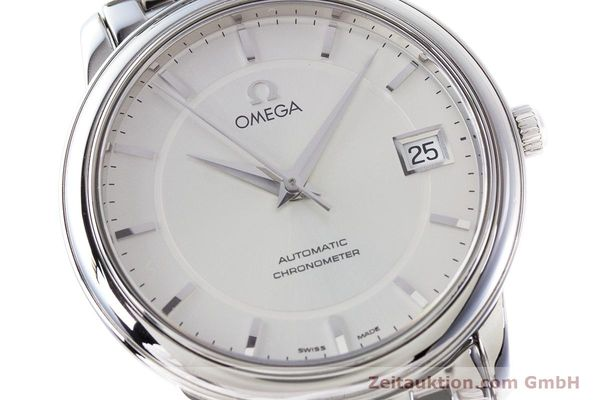 Used luxury watch Omega De Ville steel automatic Kal. 1120 Ref. 45003100  | 161058 02