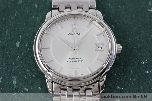 Used luxury watch Omega De Ville steel automatic Kal. 1120 Ref. 45003100  | 161058 17
