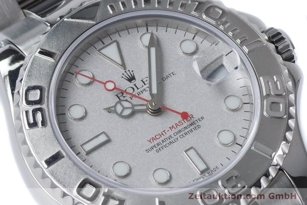Used luxury watch Rolex Yacht-Master steel / platinium automatic Kal. 2235 Ref. 168622  | 161059 02