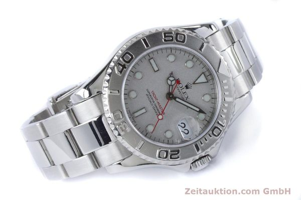Used luxury watch Rolex Yacht-Master steel / platinium automatic Kal. 2235 Ref. 168622  | 161059 03