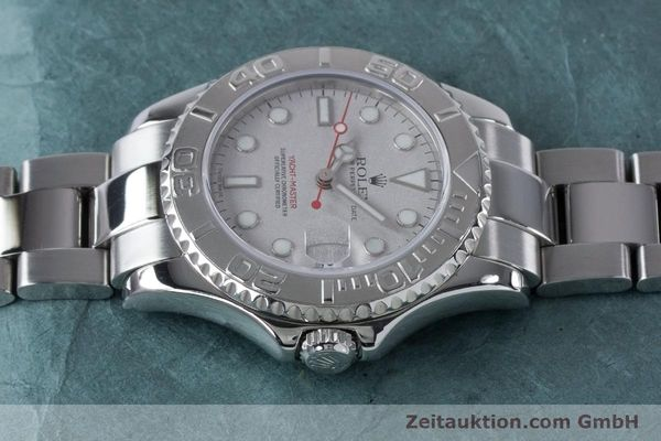 Used luxury watch Rolex Yacht-Master steel / platinium automatic Kal. 2235 Ref. 168622  | 161059 05