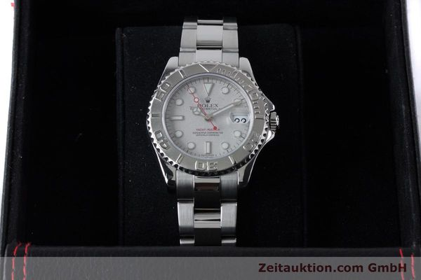 Used luxury watch Rolex Yacht-Master steel / platinium automatic Kal. 2235 Ref. 168622  | 161059 07