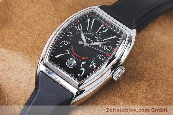 Used luxury watch Franck Muller Conquistador steel automatic Kal. 2800SC ETA 2892A2 Ref. 8005HSC  | 161062 01