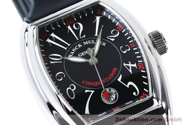 Used luxury watch Franck Muller Conquistador steel automatic Kal. 2800SC ETA 2892A2 Ref. 8005HSC  | 161062 02