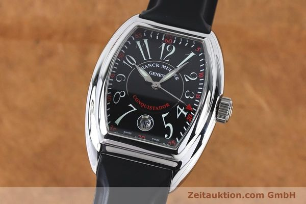 Used luxury watch Franck Muller Conquistador steel automatic Kal. 2800SC ETA 2892A2 Ref. 8005HSC  | 161062 04
