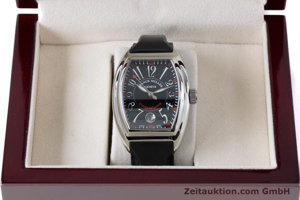 Used luxury watch Franck Muller Conquistador steel automatic Kal. 2800SC ETA 2892A2 Ref. 8005HSC  | 161062 07