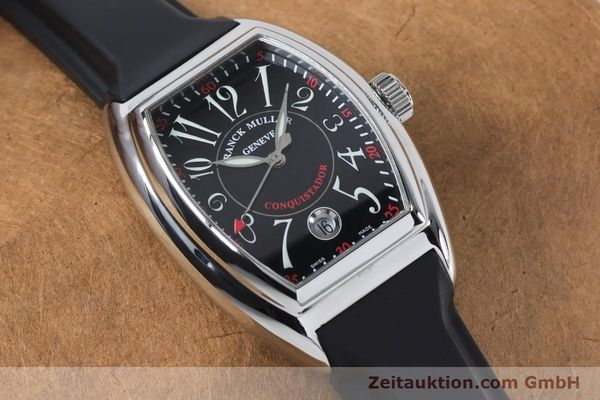 Used luxury watch Franck Muller Conquistador steel automatic Kal. 2800SC ETA 2892A2 Ref. 8005HSC  | 161062 14