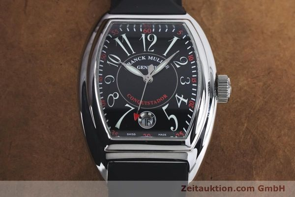 Used luxury watch Franck Muller Conquistador steel automatic Kal. 2800SC ETA 2892A2 Ref. 8005HSC  | 161062 15