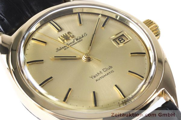 Used luxury watch IWC Yachtclub 14 ct yellow gold automatic Kal. 8541 Ref. R-911A 2-68 VINTAGE  | 161067 02