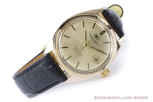 Used luxury watch IWC Yachtclub 14 ct yellow gold automatic Kal. 8541 Ref. R-911A 2-68 VINTAGE  | 161067 03