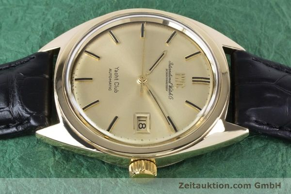 Used luxury watch IWC Yachtclub 14 ct yellow gold automatic Kal. 8541 Ref. R-911A 2-68 VINTAGE  | 161067 05