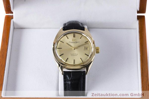 Used luxury watch IWC Yachtclub 14 ct yellow gold automatic Kal. 8541 Ref. R-911A 2-68 VINTAGE  | 161067 07