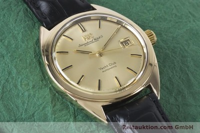 IWC YACHTCLUB 14 CT YELLOW GOLD AUTOMATIC KAL. 8541 VINTAGE [161067]
