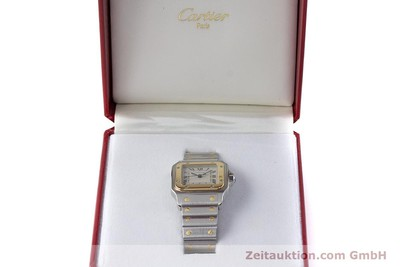 CARTIER SANTOS ACIER / OR QUARTZ KAL. 87 LP: 7100EUR [161068]