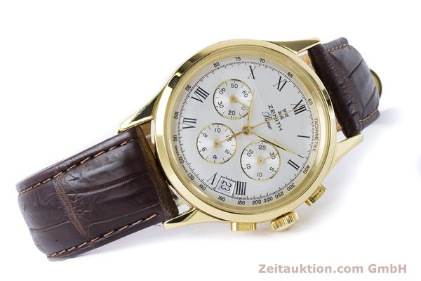 Used luxury watch Zenith Prime chronograph gold-plated manual winding Kal. 420 Ref. 20.0010.420  | 161071 03