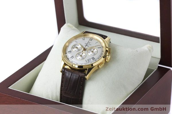 Used luxury watch Zenith Prime chronograph gold-plated manual winding Kal. 420 Ref. 20.0010.420  | 161071 07