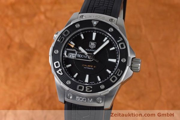 TAG HEUER AQUARACER STEEL AUTOMATIC KAL. 5 SELLITA SW200-1 LP: 2500EUR [161072]