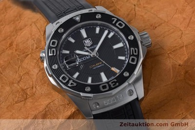 TAG HEUER AQUARACER ACIER AUTOMATIQUE KAL. 5 SELLITA SW200-1 LP: 2500EUR [161072]