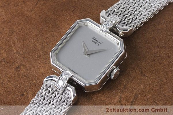 Used luxury watch Chopard * 18 ct white gold manual winding Kal. 846 Ref. 5087  | 161077 01