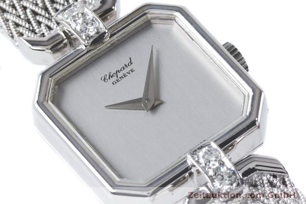 Used luxury watch Chopard * 18 ct white gold manual winding Kal. 846 Ref. 5087  | 161077 02
