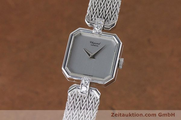 CHOPARD 18 CT WHITE GOLD MANUAL WINDING KAL. 846 [161077]
