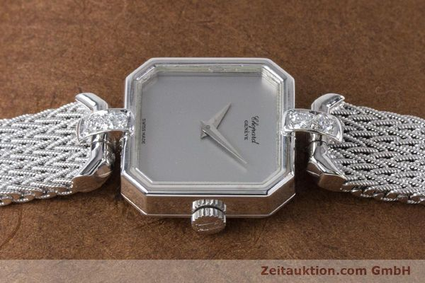 Used luxury watch Chopard * 18 ct white gold manual winding Kal. 846 Ref. 5087  | 161077 05