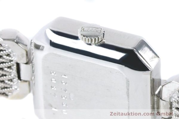 Used luxury watch Chopard * 18 ct white gold manual winding Kal. 846 Ref. 5087  | 161077 08