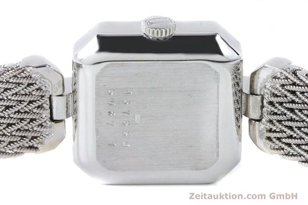 Used luxury watch Chopard * 18 ct white gold manual winding Kal. 846 Ref. 5087  | 161077 10