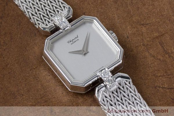 Used luxury watch Chopard * 18 ct white gold manual winding Kal. 846 Ref. 5087  | 161077 13