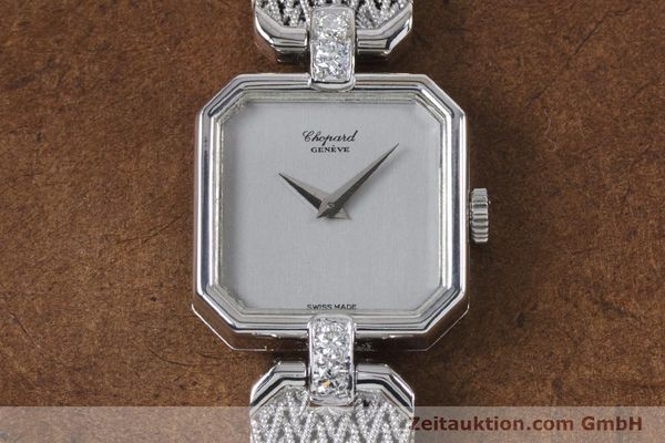 Used luxury watch Chopard * 18 ct white gold manual winding Kal. 846 Ref. 5087  | 161077 14