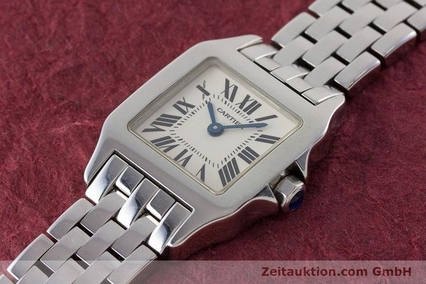 Used luxury watch Cartier Santos steel quartz Kal. 157 Ref. 2698  | 161078 01