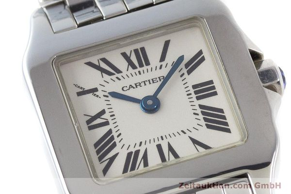 Used luxury watch Cartier Santos steel quartz Kal. 157 Ref. 2698  | 161078 02