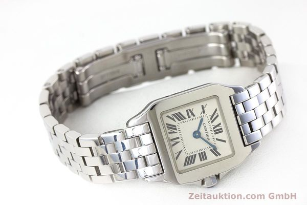 Used luxury watch Cartier Santos steel quartz Kal. 157 Ref. 2698  | 161078 03