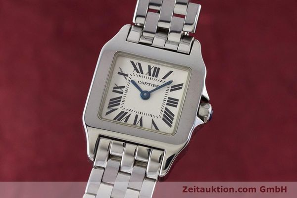 Used luxury watch Cartier Santos steel quartz Kal. 157 Ref. 2698  | 161078 04