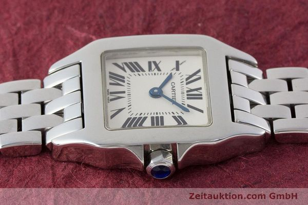 Used luxury watch Cartier Santos steel quartz Kal. 157 Ref. 2698  | 161078 05