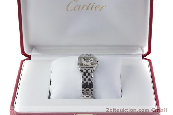 Used luxury watch Cartier Santos steel quartz Kal. 157 Ref. 2698  | 161078 07