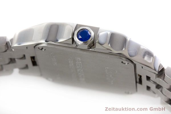 Used luxury watch Cartier Santos steel quartz Kal. 157 Ref. 2698  | 161078 08