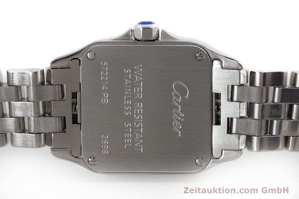 Used luxury watch Cartier Santos steel quartz Kal. 157 Ref. 2698  | 161078 09