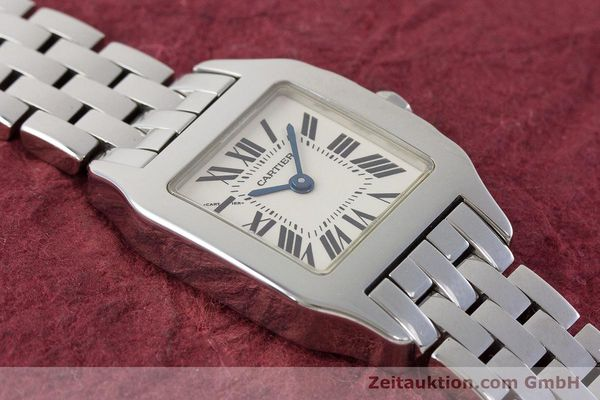 Used luxury watch Cartier Santos steel quartz Kal. 157 Ref. 2698  | 161078 14