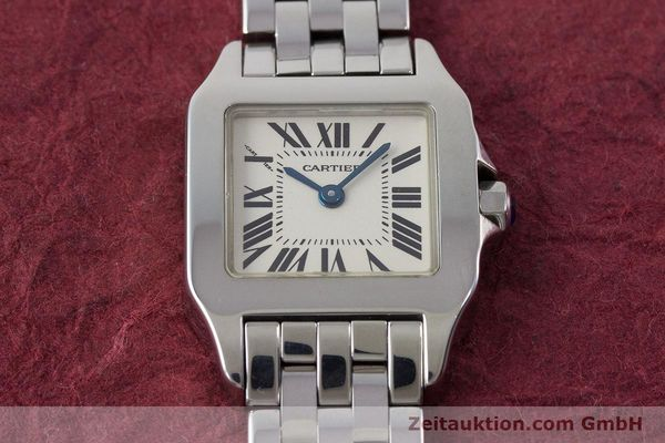 Used luxury watch Cartier Santos steel quartz Kal. 157 Ref. 2698  | 161078 15