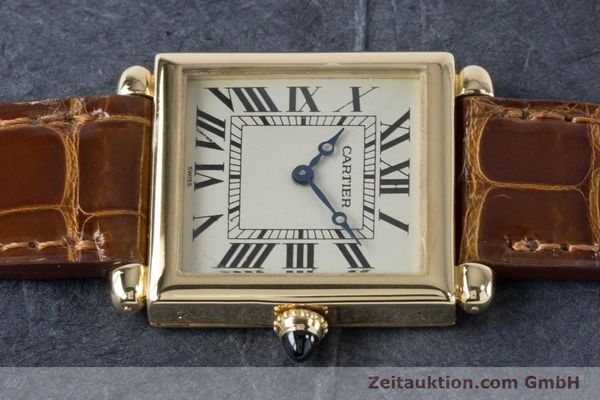 Used luxury watch Cartier Tank Obus 18 ct gold quartz Kal. 167 Ref. 1630  | 161084 05