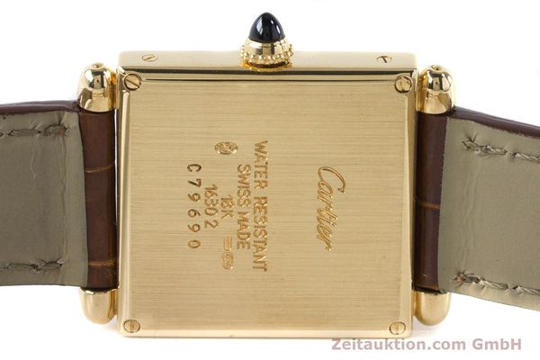 Used luxury watch Cartier Tank Obus 18 ct gold quartz Kal. 167 Ref. 1630  | 161084 10